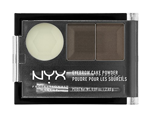 NYX Eyebrow Cake Powder, Dark Brown/Brown | Amazon Reviews | Cool gadgets | Ideas | Products | Makeup | Fashion | Beauty | Fashion Tricks