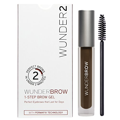 Wunder2 Wunderbrow Eyebrow Gel Perfect Eyebrows in 2 Mins - Black/Brown | Amazon Reviews | Cool gadgets | Ideas | Products | Makeup | Fashion | Beauty | Fashion Tricks