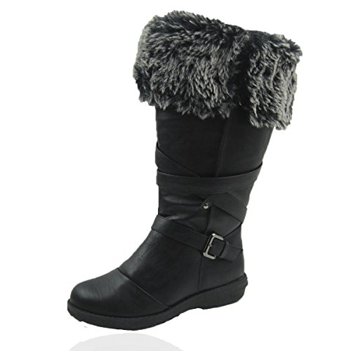 0dc0c978093 Comfy Moda Women s Winter Snow Boots Jessica Wide Calf Available  6-12 (7